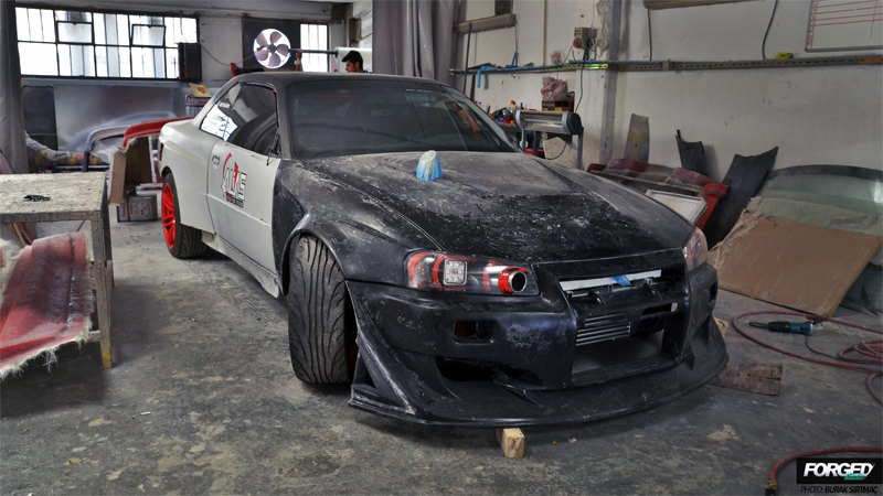 Kemal Soylu - BMW E36 to GTR R34 Conversion